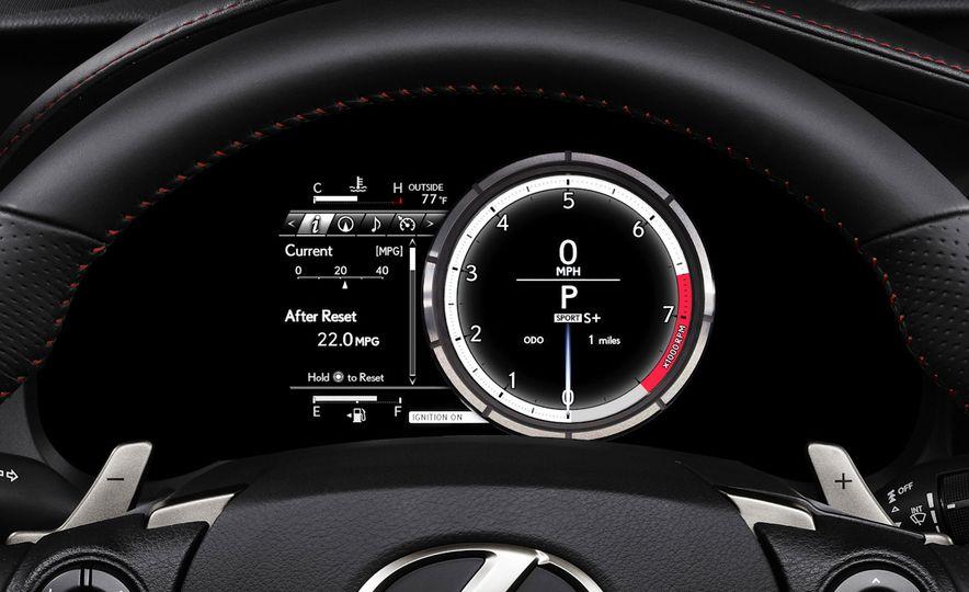 2016 Lexus IS200t F Sport - Slide 16