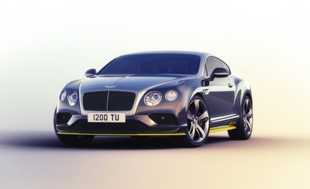 "2016 Bentley Continental GT Speed Breitling Jet Team Series Limited Edition Debuts (That's the Entire Name—Save for ""Debuts"")"