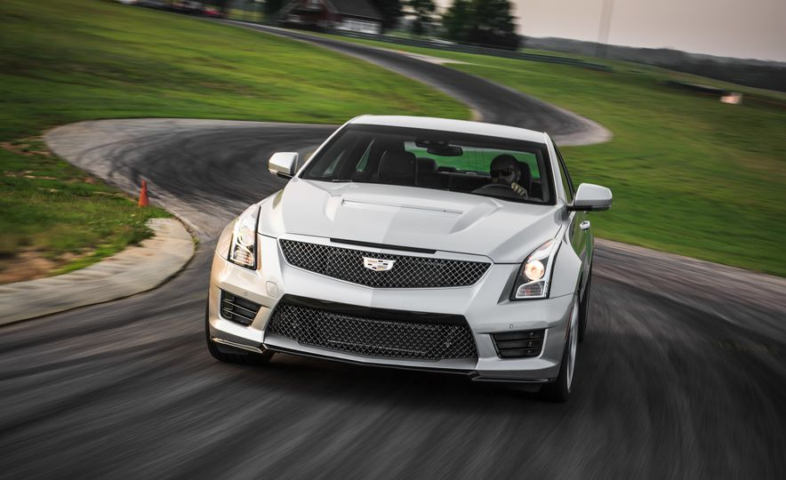 2016 Cadillac ATS-V sedan - Slide 1