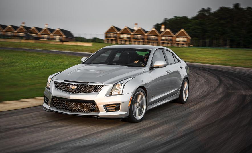 2016 Cadillac ATS-V sedan - Slide 2
