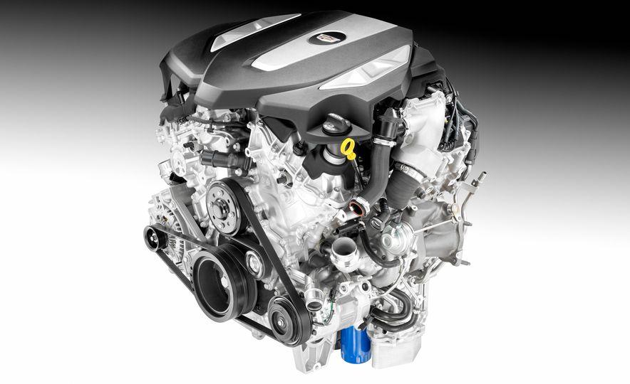 2016 Cadillac ATS-V sedan - Slide 32