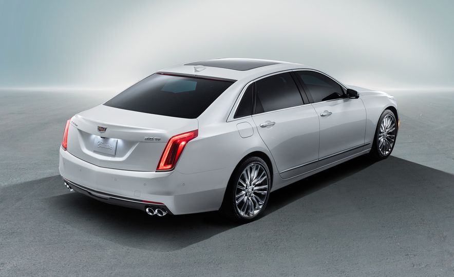 2016 Cadillac ATS-V sedan - Slide 34