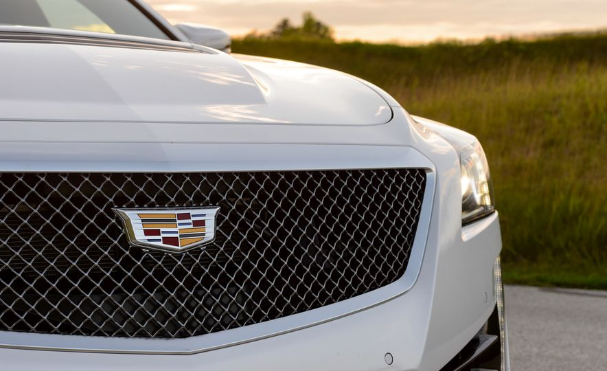 2016 Cadillac ATS-V sedan - Slide 40