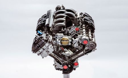 Holy Flat-Plane Crank: We Finally Get an In-Depth Look at the Ford Mustang Shelby GT350's 5.2-liter V-8