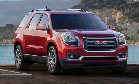2016 Gmc Acadia Still A Saturn Outlook In Professional Grade Drag Now With