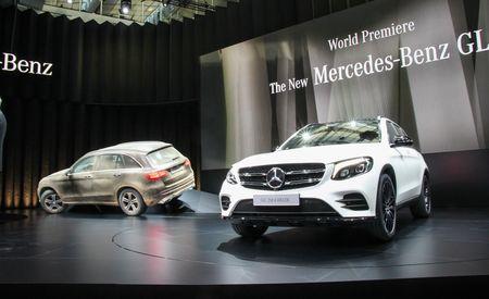 2016 Mercedes-Benz GLC-class – Official Photos and Info