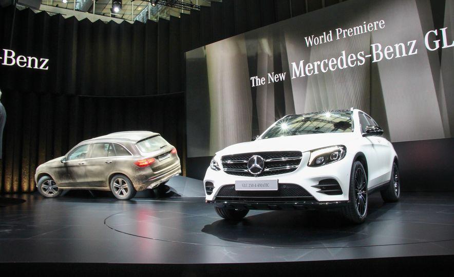 2016 Mercedes-Benz GLC250d 4MATICs (Euro-spec) - Slide 1
