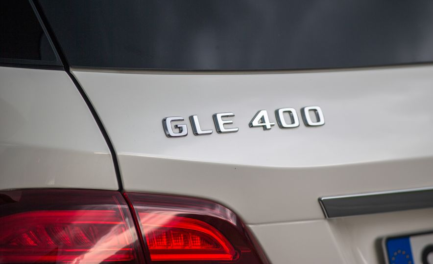 2016 Mercedes-Benz GLE400 4MATIC - Slide 20