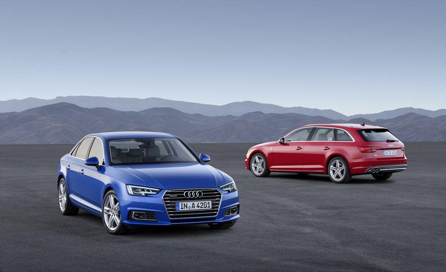 2017 Audi A4 sedan and wagon (Euro-spec) - Slide 1