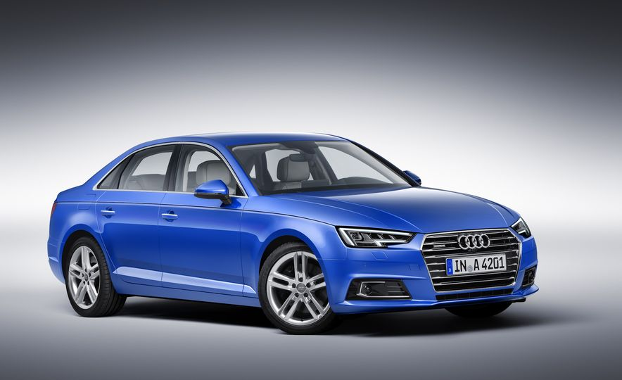 2017 Audi A4 sedan and wagon (Euro-spec) - Slide 2