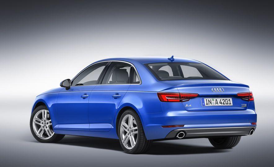 2017 Audi A4 sedan and wagon (Euro-spec) - Slide 3