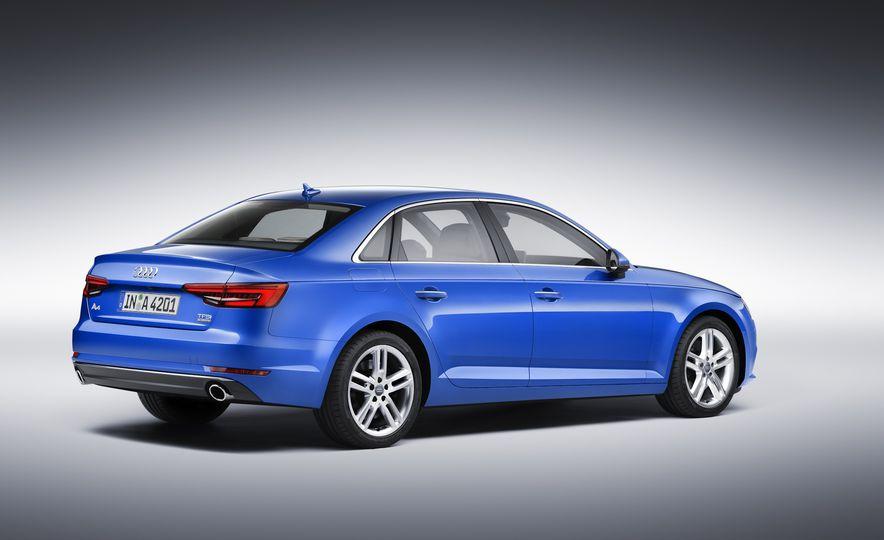2017 Audi A4 sedan and wagon (Euro-spec) - Slide 4