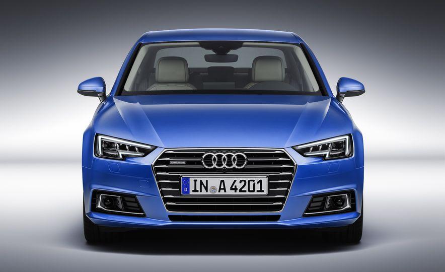2017 Audi A4 sedan and wagon (Euro-spec) - Slide 5