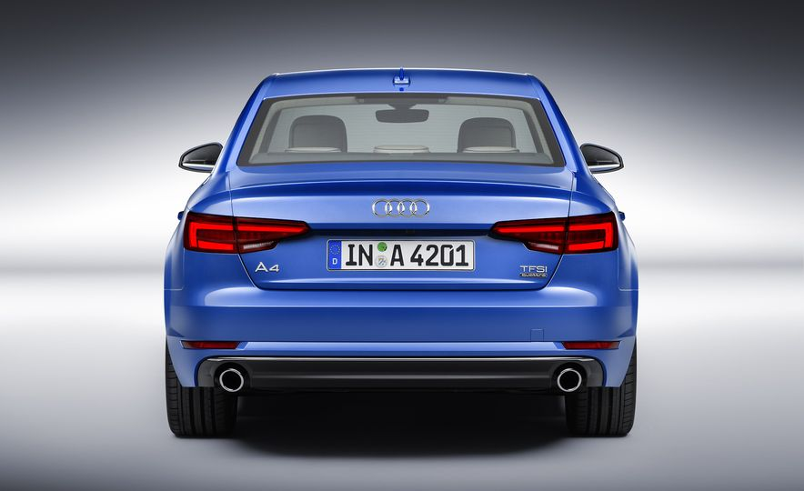 2017 Audi A4 sedan and wagon (Euro-spec) - Slide 6