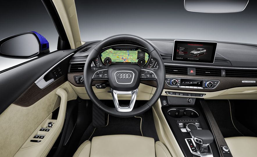 2017 Audi A4 sedan and wagon (Euro-spec) - Slide 7