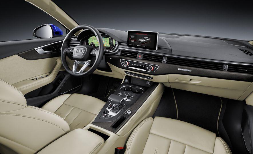2017 Audi A4 sedan and wagon (Euro-spec) - Slide 8