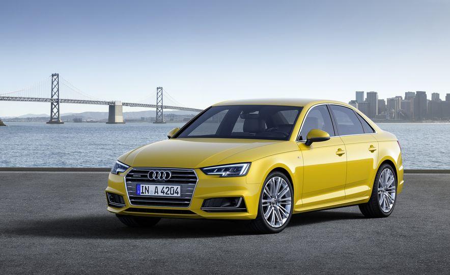 2017 Audi A4 sedan and wagon (Euro-spec) - Slide 9