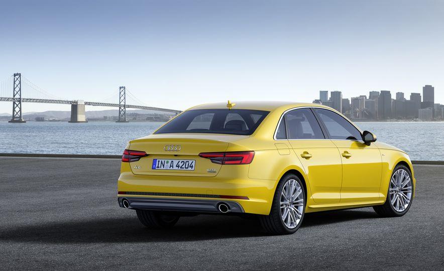 2017 Audi A4 sedan and wagon (Euro-spec) - Slide 10
