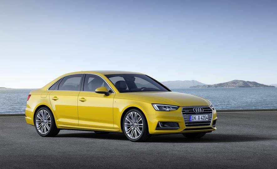 2017 Audi A4 sedan and wagon (Euro-spec) - Slide 11