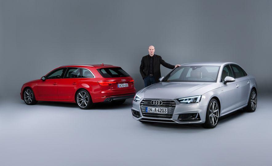 2017 Audi A4 sedan and wagon (Euro-spec) - Slide 13