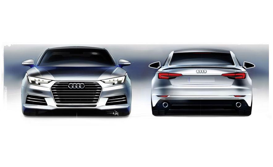 2017 Audi A4 sedan and wagon (Euro-spec) - Slide 17