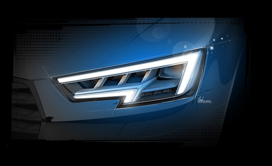 2017 Audi A4 sedan and wagon (Euro-spec) - Slide 21