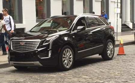 2017 Cadillac XT5 Spied Completely Uncovered During New York Photo Shoot