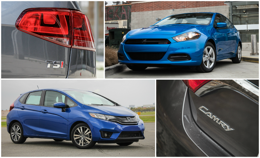 C/D Tested: The 10 Quickest Cars for 2015 Under $25,000 - Slide 1
