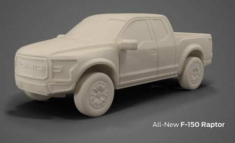 Print Your Own 2017 Ford Raptor For Just $5