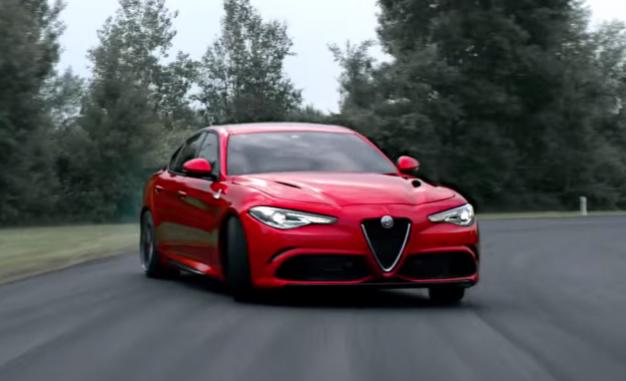 HOLY VESUVIUS! Hear Alfa Romeo's New Giulia Quadrifoglio Get Wicked [Video]
