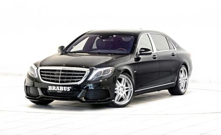 Brabus Drops Viagra into Mercedes-Maybach's V-12, Nets an 888-hp Limo
