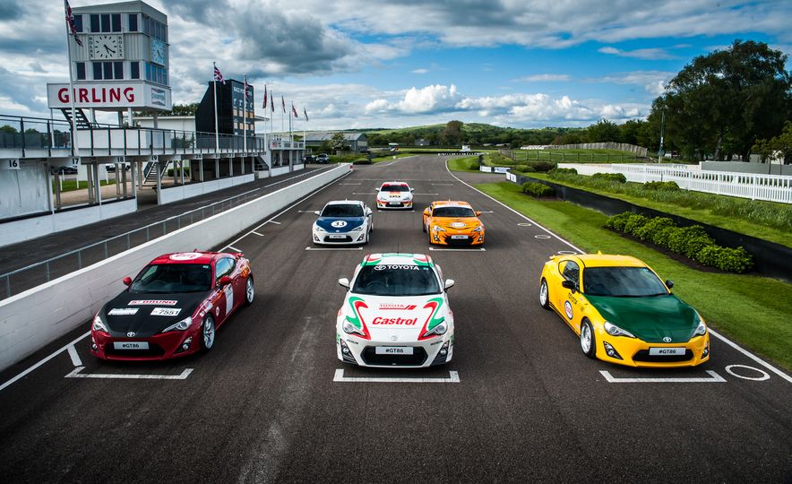 Livery Service: Toyota Pays Tribute to Gurney, Shelby, Others With Goodwood GT-86 Cars - Slide 2