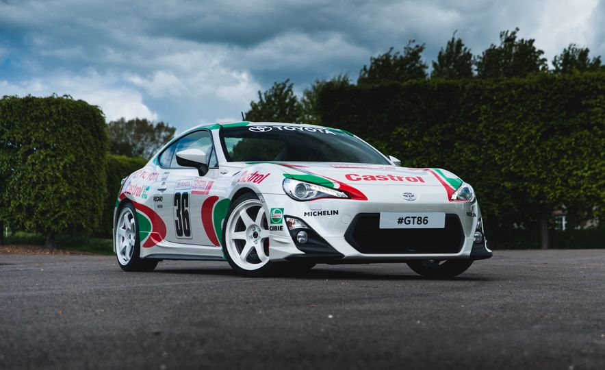 Livery Service: Toyota Pays Tribute to Gurney, Shelby, Others With Goodwood GT-86 Cars - Slide 3