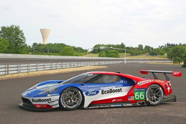 Ford GT race car Pictures | Photo Gallery