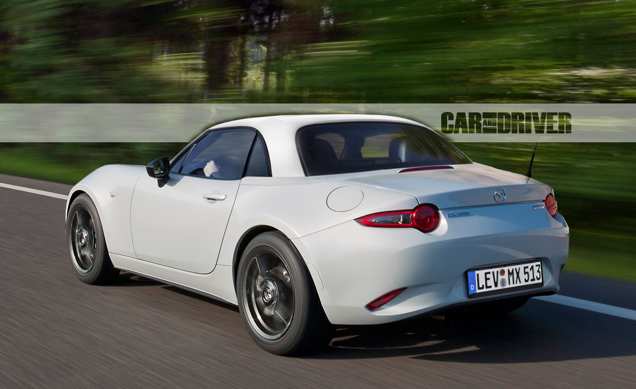 rendered: the mazda mx-5 miata power-retractable hardtop – news