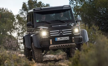 Mercedes-Benz G500 4×4² to Stomp into Series Production