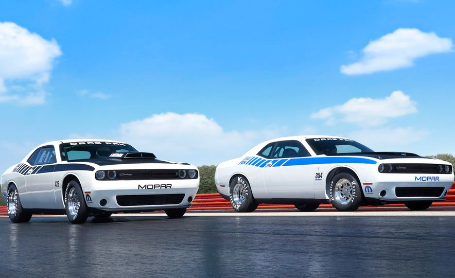 Mopar Dodge Challenger Drag Paks - Slide 1