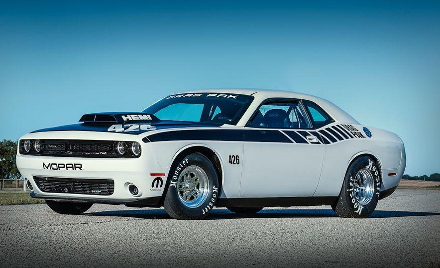Mopar Dodge Challenger Drag Paks - Slide 15