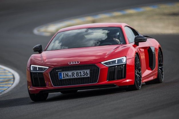 Audi R Reviews Audi R Price Photos And Specs Car And Driver - Audi r8 engine