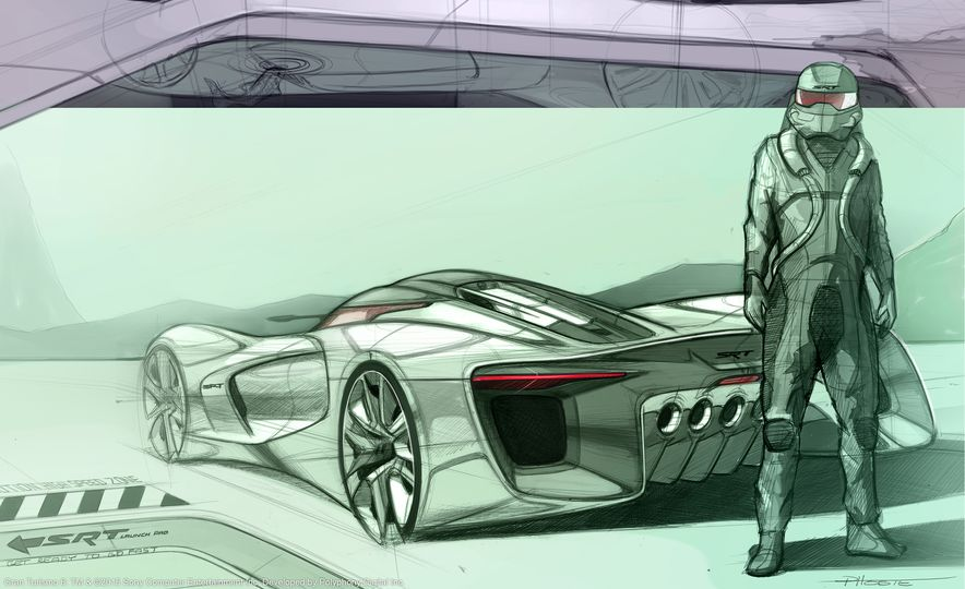 SRT Tomahawk Vision Gran Turismo concepts - Slide 27