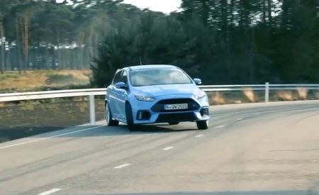 Watch the Ford Focus RS Oversteer Like Mad, Hear It Snarl Like a Beast [Video]
