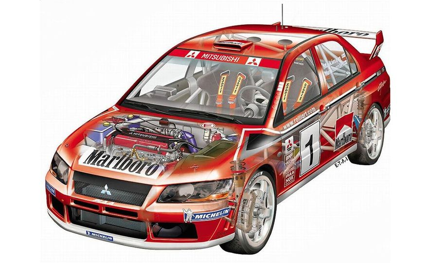 Mitsu Metamorphosis: The History of the Mitsubishi Lancer Evolution - Slide 7