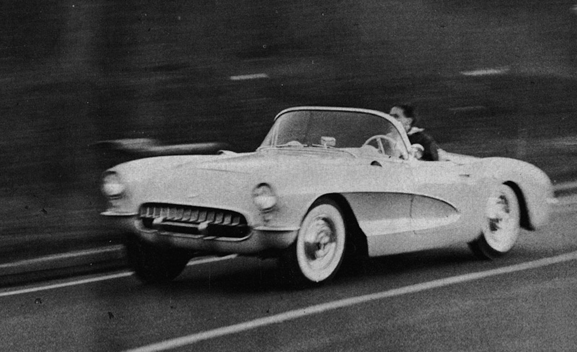 Car And Driver Tested The 10 Quickest Cars Of 1950s 1951 Chevrolet Police