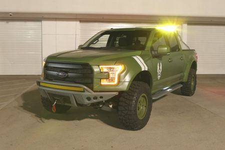 """Ford's New """"Halo"""" Truck: 2015 F-150 Halo Sandcat"""