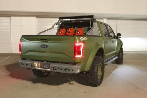 Ford and Galpin Create F-150 Halo Sandcat for Xbox Halo 5