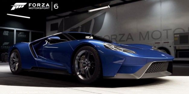 Forza  Adds Nighttime Racing Weather And The Ford Gt