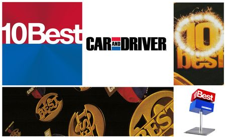 The Best Around: Car and Driver's 10Best Cars through the Decades