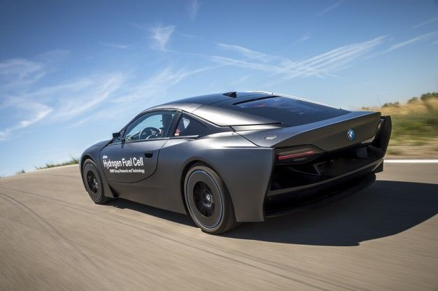 A Sneak Peek at BMW's Hydrogen-Powered Future