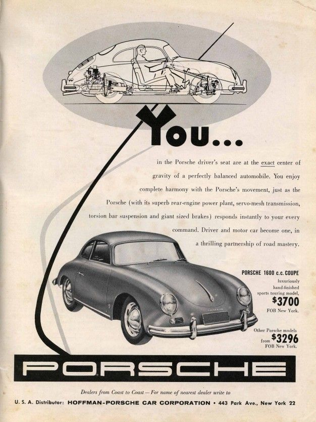 These 1950s Car Ads Are Undeniably Cool – Feature – Car and Driver
