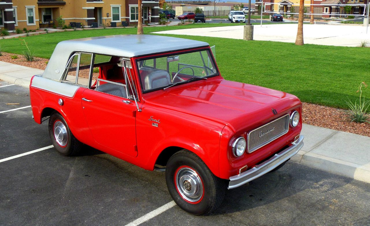 1967 international harvester scout pictures photo gallery car and driver